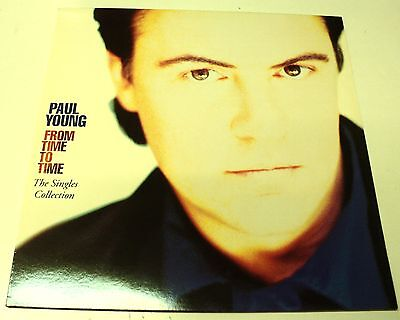 Paul Young Unplayed 1991 Vinyl Lp From Time To Time - Warehouse Find ! Best Of