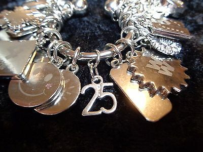 Celebrate your 25 pound loss Charm for Weight Watchers Keychain!
