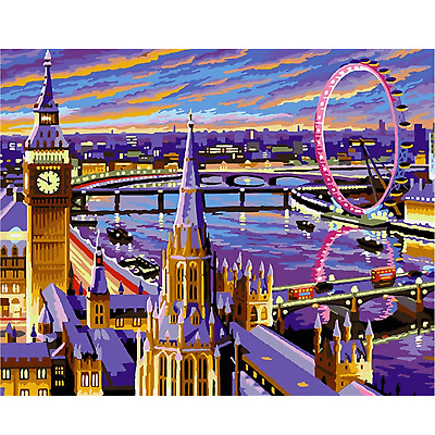 KSG London Large Painting By Numbers