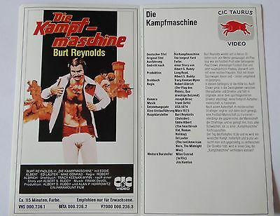 Aufkleber DIE KAMPFMASCHINE The longest Yard 1974 Burt Reynolds Film Sticker