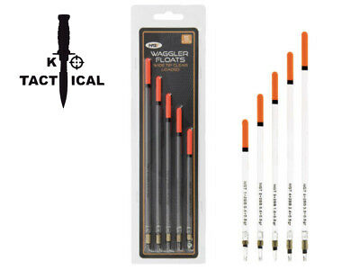 Ngt Waggler Float. Pack Of 5. Loaded Wide Tip Float. Course/ Carp Fishing.