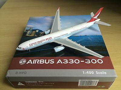 1:400 diecast Cathay Dragon Phoenix Airbus A330-342 B-HYQ SOLD OUT