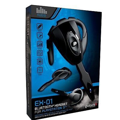 Gioteck EX-01 Bluetooth Headset For PlayStation 3 PS3