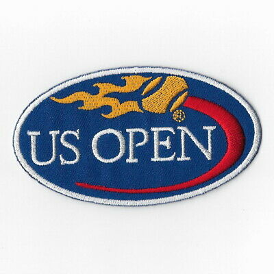 patches for and sewing on fabric. US OPEN  Logo