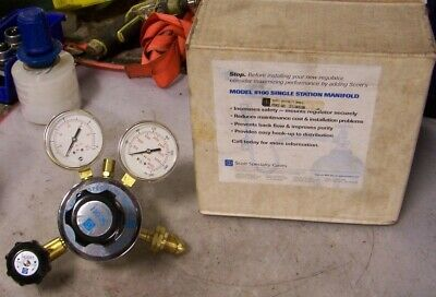 New Scott Specialty Gases 5118A590 Regulator 18A