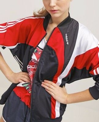 Adidas Women's Archive Track Top Jacket retro old Skool tracksuit