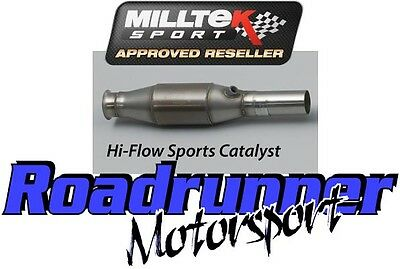 Milltek Sports Cat Clio 200 RS 2.0 Inc Cup Stainless 200 Cell Exhaust SSXRN304