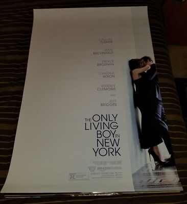 The Only Living Boy In New York Kate Beckinsale 2017 DS 27x40 Movie Poster