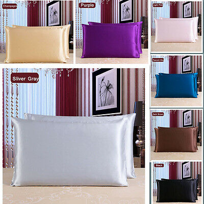 Luxury 25 Momme Mulberry Silk Pillowcase Charmeuse Both sides Silk Pillowcase