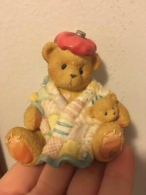 """cherished teddies """"can't bear to see you under the weather"""