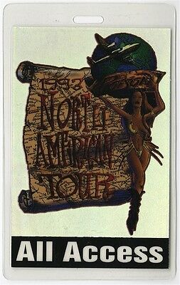 Poison authentic 1993 concert Laminated Backstage Pass Native Tongue Tour AA