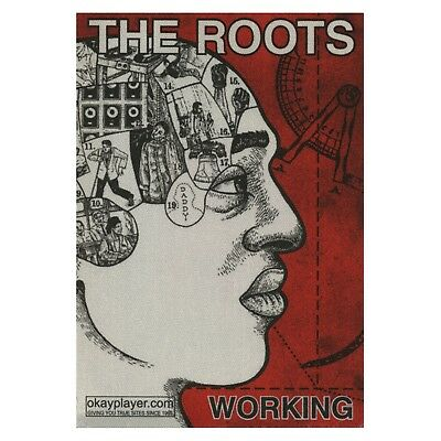 The Roots authentic Working 2000's tour Backstage Pass