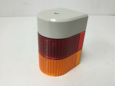Patlite WME-502A LED Light Tower Modules, Color: Red and Amber, With WME-502AFB