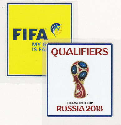 World cup qualifier russia 2018 coupe du monde football Patch Iron-on