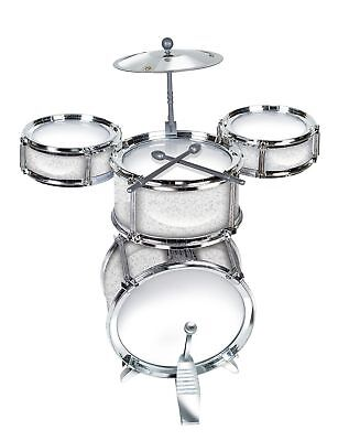Mini Finger Drum Set W/Bass Office Toy Electric Desk Gift Musical Toy 16 x 10''