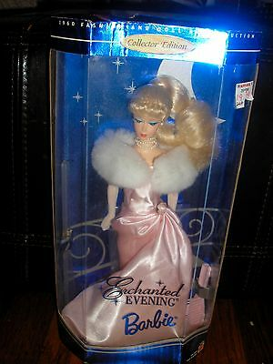 NRFB 1995 Collector Edition ENCHANTED EVENING 1960 Reproduction Blonde Barbie