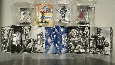 Venom Krypto Spiderman Superman Doom Dr.Fate Mandarin Anthony Stark Heroclix NEW