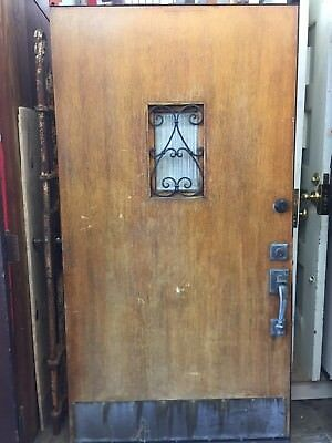 "Front door Old Spanish Revival Style Arts N Crafts Craftsman 79""x41-1/2"""