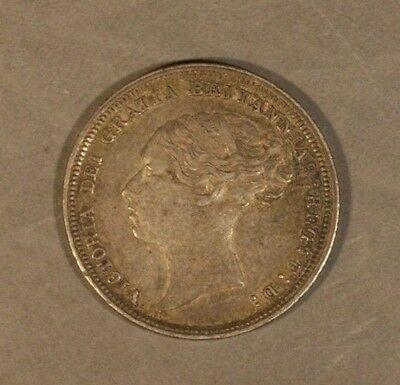 1883 Great Britain 6 Pence Nice Details              ** FREE U.S. SHIPPING **