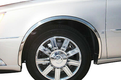 2000-2010 Cadillac DeVille / DTS Stainless Steel Fender Trim (Full Front Cover)