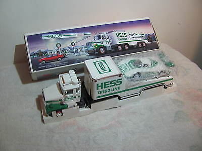 Hess Toy Truck Tractor-Trailer And Racer Car 1988 Release