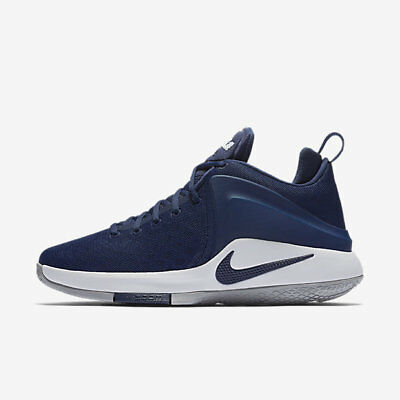 de1756744c4 Nike Zoom Witness Midnight Navy Men s LeBron James Basketball Shoes Size 12