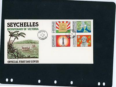 Seychelles Victoria Bicentennial First Day Cover