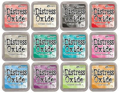 Tim Holtz Distress Oxide Ink Pads - Release 2 - 12 New colours
