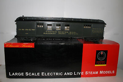 Accucraft Brass Large Scale 1:20.3 D&rgw San Juan Rpo Baggage Passenger Coach