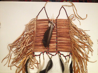 Plains Indians style men's Bone Breast Plate for pow wows or artistic display