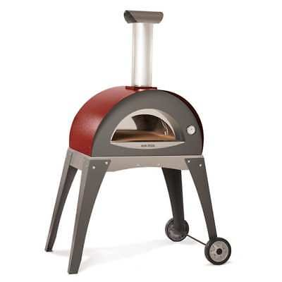 Alfa Alfa Forno Ciao - Red Outdoor Pizza Oven Forno Ciao - Red Red Stainless