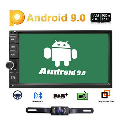 """HD 7"""" Android7.1 Double 2din Car stereo radio multimedia RAM 2GB ROM 32GB DAB+SD"""