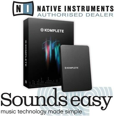 Native Instruments Komplete 11 UPDATE from Komplete 2-10 Software Bundle