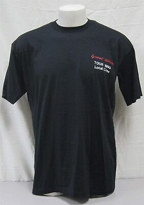 Great White vintage Concert Crew Shirt 1990 concert Tour NEVER WORN stage XL
