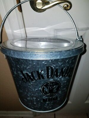 Limited Edition  Jack Daniels Souvenir Vintage style Bucket with lid. 64oz