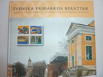 2001 annual collection of Swedish Stamps, publication and mint stamps