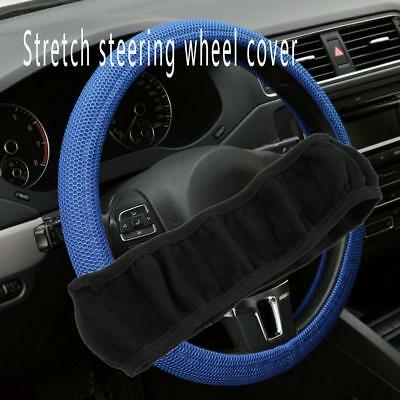 Universal Anti-slip Stretch Soft Car Steering Wheel Protector Cover Anti-catch