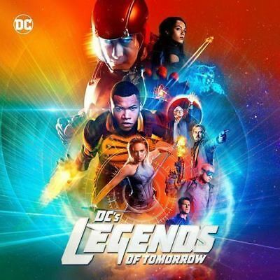 DC's Legends of Tomorrow Season 2(DVD, 2017,4-Disc Set) Free shipping