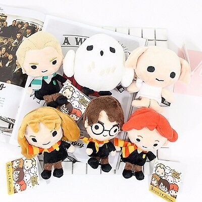 """8"""" Harry Potter Plush Hermione Dobby Hedwig Bean Collection Toy Kid Doll Gifts"""
