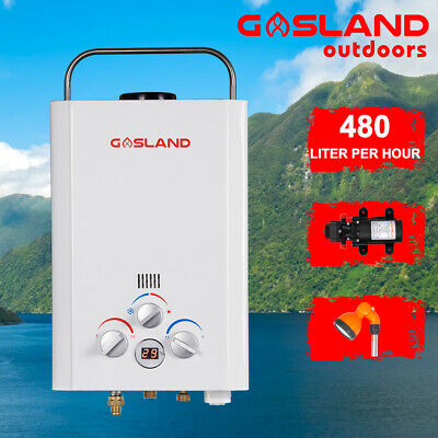 MADEMSA Gas Hot Water Heater Camping Portable Hot Water Shower Caravan 4WD