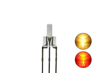 S728 20 Stk. DUO Tower LEDs 2mm Bi-Color warmweiß rot Lichtwechsel Loks DIGITAL