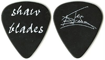 Tommy Shaw & Jack Blades authentic 2007 tour Guitar Pick Night Ranger and Styx