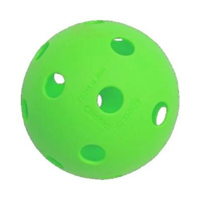 Floorball Ball, Unihockey Ball, 23g Unihoc neon grün