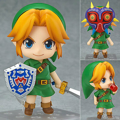 Japan Good Smile Nendoroid 553 The Legend of Zelda Link Majora's Mask 3D Figure