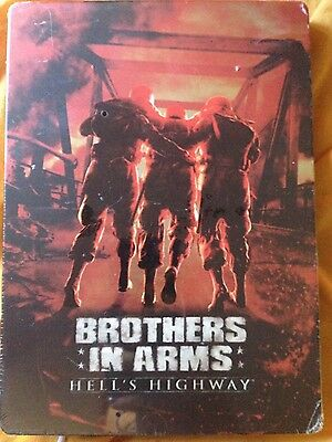 Steelbook tin box Brothers in arms Hell's highway