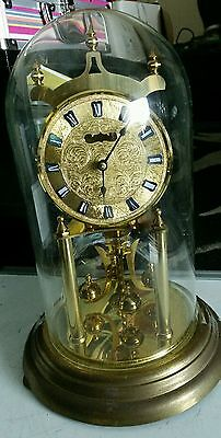 kundo clock made in germany Beautiful antique clock no (0) jewels unadjusted