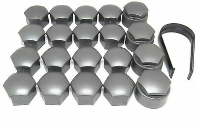 NEW GENUINE AUDI TT WHEEL NUT BOLT COVERS 17mm LOCKING CAPS WITH TOOL 2006-2017