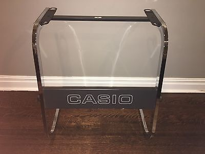 Vintage CASIO Metal Keyboard Synth Stand Fits Casiotone CT-101 & Others RARE MIJ