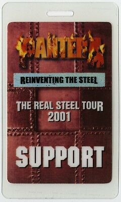 Pantera authentic 2000 Laminated Backstage Pass Reinventing the Steel Tour