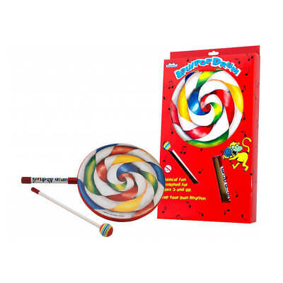 Remo 1″x10″ Kids Lollipop Drum with fabric mallet